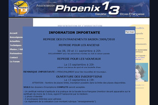 Association Phoenix 13 - Savate Boxe Française