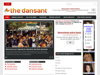 Agenda de thé dansant en France - The-dansant-france. blogspot.fr