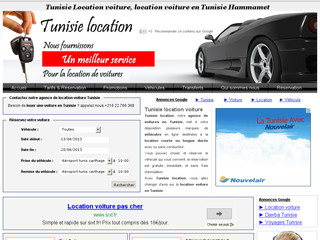 Tunisie location - Voitures à Tunis et Hammamet - Tunisie-location.net