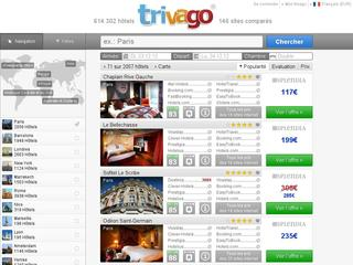 Comparateur de prix d 39 h tels for Trivago comparateur hotel