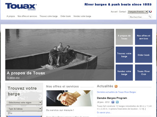 Transport Logistique Fluvial Touax River Barges - Touax-river-barges.com