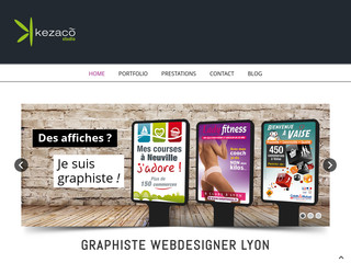 Graphiste freelance, Kezaco Studio, Direction artistique
