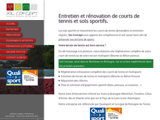 Rénovation de court de tennis en Bretagne