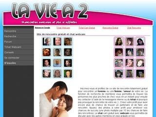 Laviea2.fr : rencontre et chat webcam
