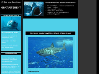 Le Grand Requin Blanc sur Grand-requin-blanc.yatou.net