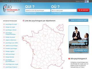 Psychologues avec Allo-psychologues.fr