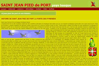 Saint jean pied de port ville de tourisme voyage et for Construction piscine saint jean pied de port