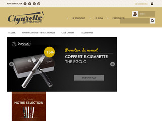Cigarette electronique avec Cigaretteelectronique.com