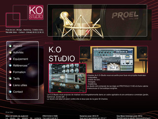 Studio d'enregistrement - Ko-studio.net