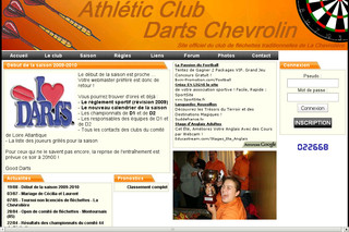 Acdc44.free.fr - Site officiel de l'Athlétic Club Darts Chevrolin