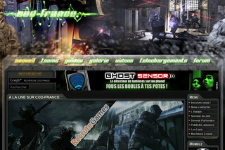 Cod-france.com - Call of Duty 4 : Modern Warfare - Tout sur COD 4