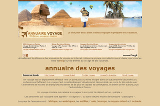 Reference-voyage.com - annuaire voyage