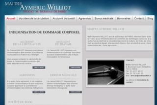 Cabinet Aymeric Williot - Avocat Indemnisation accident de la circulation sur Maitrewilliot.fr