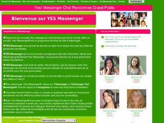 Yes Messenger sur Telecharger-yes-messenger.com