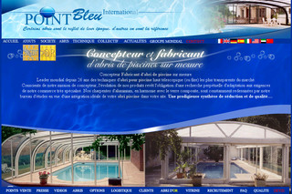 Pointbleuinternational.com - Abri piscine Point Bleu International