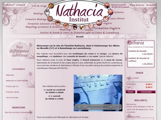 Institutnathacia.com - Onglerie et pose d'ongle