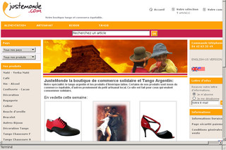 JusteMonde - Boutique de commerce équitable - Justemonde.com