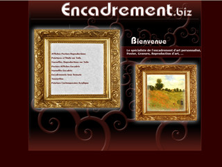 Reproduction d'art de Van Gogh - Encadrement.biz