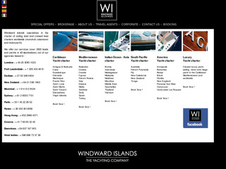 Windward-islands.net - Location de bateau avec Windward Islands