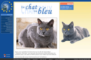 Chartreux-europe.com - Le chat Chartreux d'Europe
