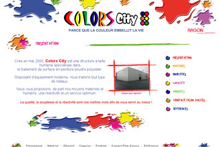 Colors City, peinture, traitement de surface métal - Colors-city.fr