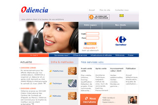 Odiencia.com - Centre d'appel, Télémarketing, Relation Clients, call center Offshore : Odencia