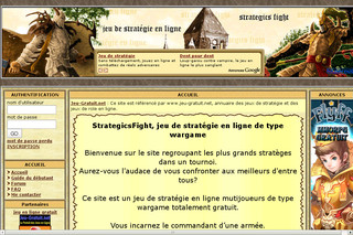 Strategicsfight.com - Au royaume des stratèges