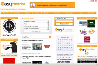 EasyFranchise.fr - Devenir franchisé : l'annuaire EasyFranchise