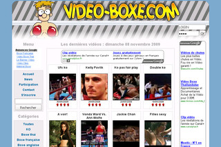 Video-boxe.com - Les moments les plus forts de la boxe