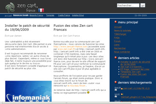 Zencart-france.com - Le site de support Francophone de Zen Cart