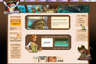 PirateFight.com - Devenez le pirate le plus craint des quatre mers! - Inscription Gratuite