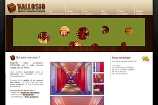 Vallosio-agencement.com - Magasin Mobilier Aménagement Espace