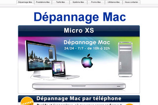 Micro-xs.com - Dépannage Mac/Apple Paris