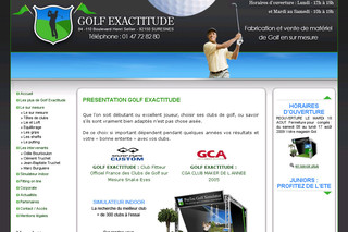 Golf Exactitude - Magasin matériel de golf à Paris | Golf-exactitude.com