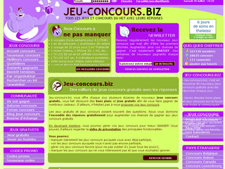 jeu jeux concours gratuits. Black Bedroom Furniture Sets. Home Design Ideas