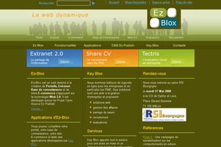 Ez-blox.com - Web 2.0 collaboratif - Ez Publish - Ez Blox