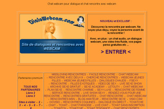 Dialowebcam.com - Chat webcam et rencontre