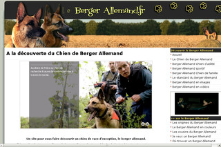 Lebergerallemand.fr - Le site 100% berger allemand