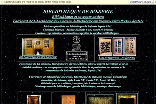 Bibliotheque-ancienne.com - Boiserie ancienne