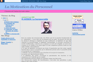 Motivation du personnel sur La-motivation-du-personnel.blogspot.com