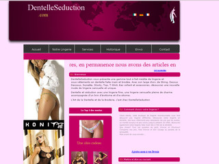 Dentelleseduction.com - Le N°1 de la lingerie en dentelle