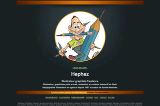 Hephez : Graphiste Illustrateur Freelance