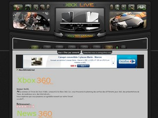 Forum xbox 360 - Xbox360addicted.com