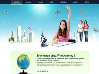 Chelly's WinAkademy - Soutien scolaire