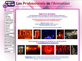 Prestataire pour mariage - Night-fever-animation.com