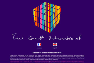 Gestion de crises et restructuration – Trans Consult International
