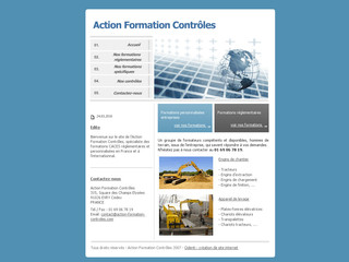 Action-formation-controles.com : Formations spécialisées engins de chantier