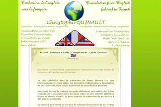 Quinault Traduction - anglais vers français - Quinault-traduction.com
