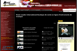 Music Leader International Boutique de vente en ligne d'instruments de musique