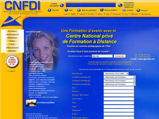 CNFDI - Centre National de Formation à Distance